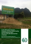 Trade-Off Analysis between Ecosystem Services, Habitat Quality, and Development Plans: The Case of Pu Mat National Park in Vietnam