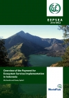 Overview of the Payment for Ecosystem Services Implementation in Indonesia