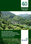 How the Risk Attitudes of Small-Scale Households Drive Forest Carbon Sequestration Supply: A Risk Experiment in China