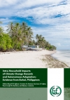 Intra-household Impacts of Climate Change Hazards  and Autonomous Adaptation: Evidence from Bohol, Philippines